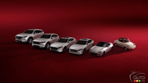 Mazda 100th Annersary Edition models