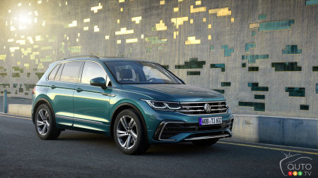 Volkswagen Presents a Revised and Updated 2022 Tiguan