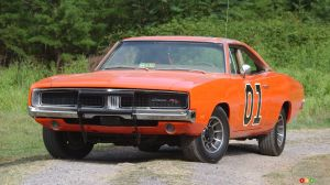 Le General Lee de l'émission The Dukes of Hazzard