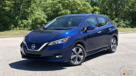 2020 Nissan LEAF Plus Review: The Vet Hangs In There