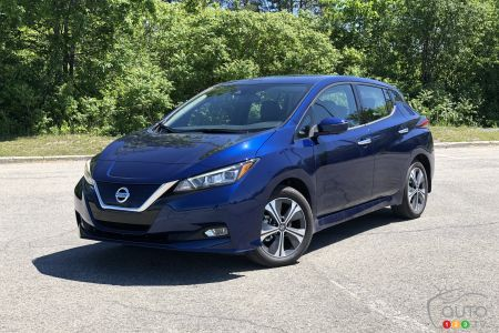 2020 Nissan Leaf Plus Review Car Reviews Auto123