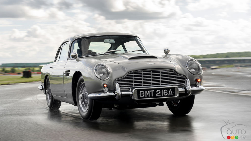 The First Aston Martin DB5 Continuation Has Been Built