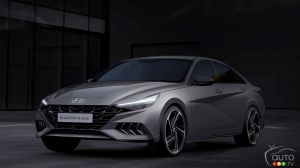 Hyundai Shows Images of its 2021 Elantra N Line