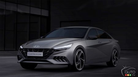 Hyundai montre quelques images de son Elantra N Line 2021
