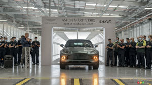 The first Aston Martin DBX