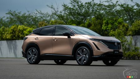World Premiere of the 2022 Nissan Ariya Electric Crossover