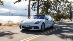 Porsche Panamera 4 e-hybrid Sport Turismo Review: Gratification Delayed