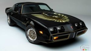 You Could Win a Pontiac Trans Am Autographed by Burt Reynolds