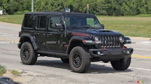 Jeep Wrangler à moteur V8 : on s'active en coulisse