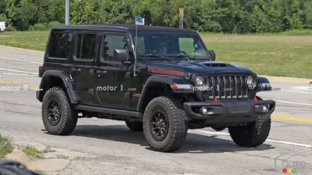 A V8-powered Jeep Wrangler Currently in Testing