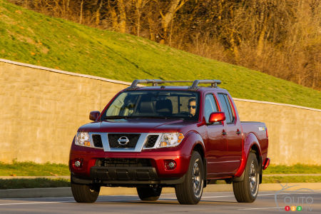 No 2020 Nissan Frontier With New Engine For Canada Car News Auto123