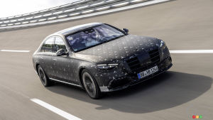 2022 Mercedes-Benz S-Class Taking Safety Tech to Next Level