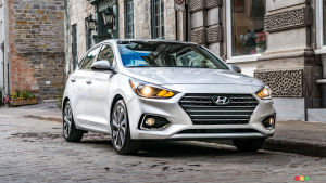 Hyundai Canada: Accent Will Not Return  in 2021
