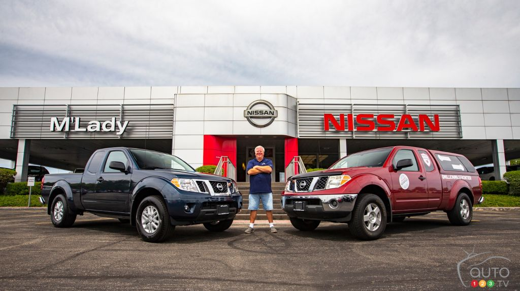 After a Million Miles With his Frontier, Nissan Gives Owner a New One