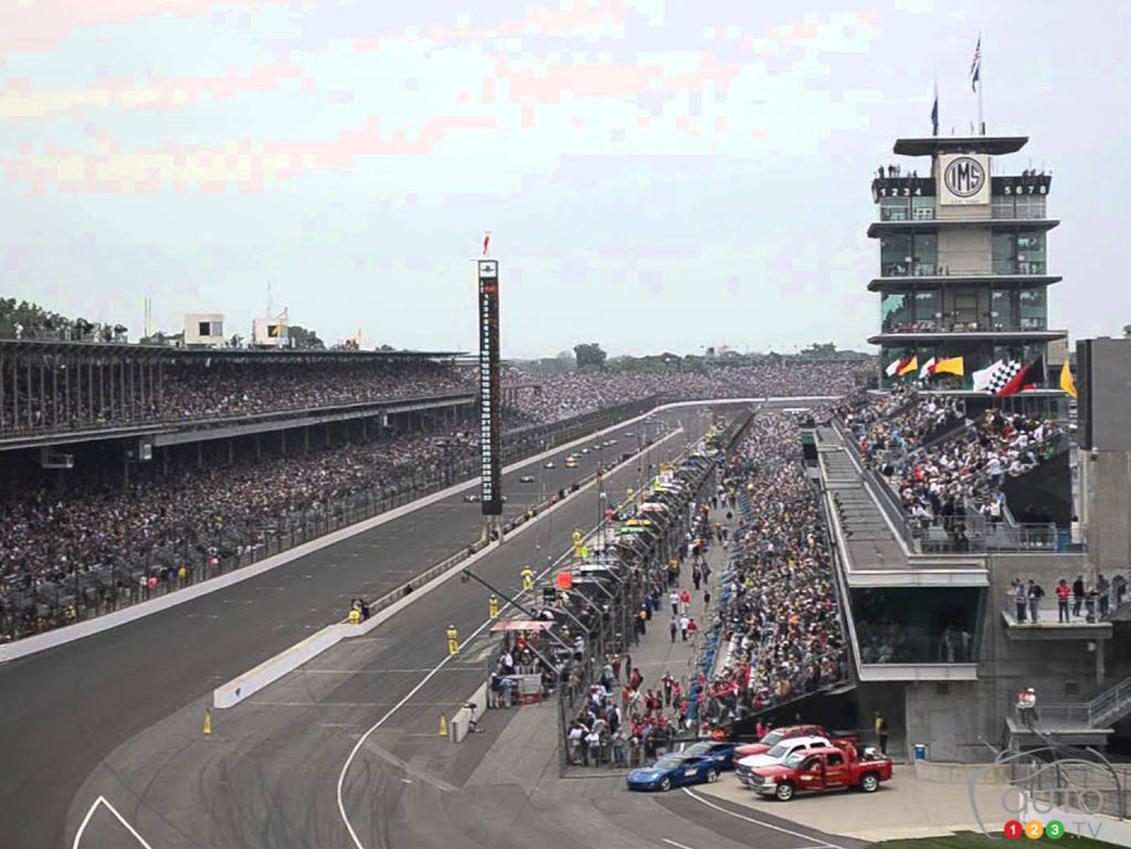 The Indianapolis 500, in 2013