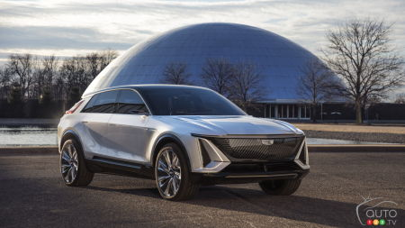Cadillac dévoile officiellement son Lyriq