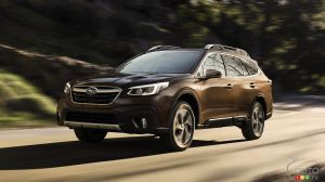 More Standard Safety Tech for 2021 Subaru Legacy and Outback