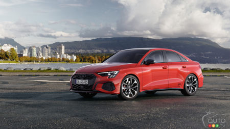 306 HP for the 2022 Audi S3