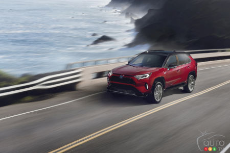 Pricing Announced for the 2021 Toyota RAV4 Prime