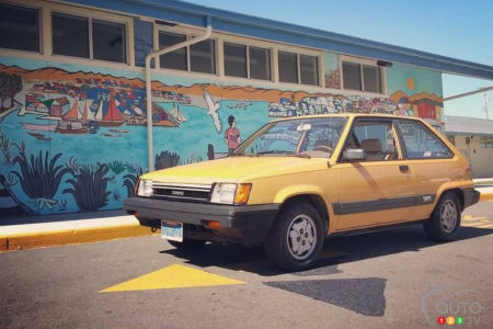 This 1983 Toyota Tercel SR5 could be yours
