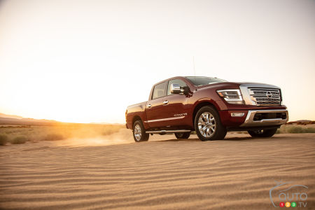Nissan Titan Out of Canada After 2021
