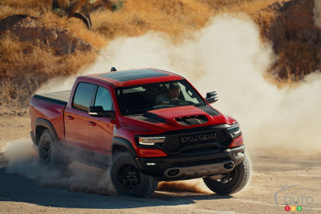 The 2021 Ram TRX Makes its Entrance