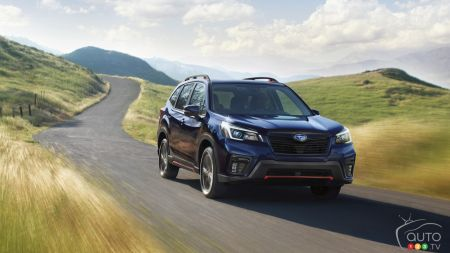 More Standard Equipment for the 2021 Subaru Forester