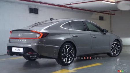 Hyundai Sonata N Line: Interesting New Details Leaked