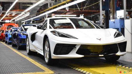 1,750,000th Chevrolet Corvette Produced, To Be Raffled Off