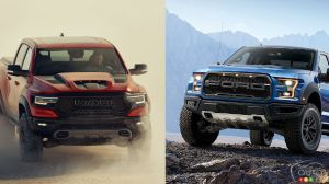 Ford F-150 Raptor vs Ram 1500 TRX: A Battle Played out in Numbers – For Now