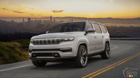 Jeep Unveils the Reborn Grand Wagoneer, in Concept Form