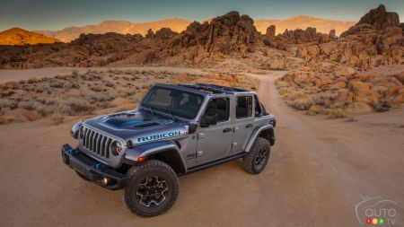 FCA Introduces 2021 Jeep Wrangler 4xe With its 40-km Electric Range