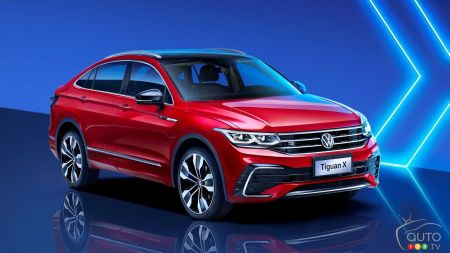 Volkswagen Presents the China-Only Tiguan X