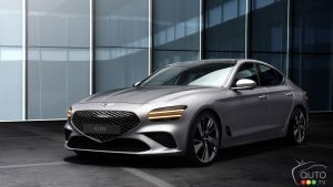 2022 Genesis G70 Revealed: The Brand Applies New Style Signature to its Smallest Sedan