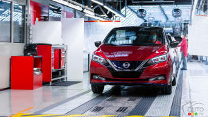 Nissan Builds its 500,000th LEAF