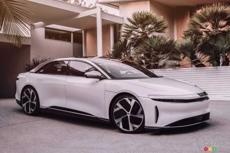 Lucid Air Electric-Powered Sedan Finally Gets its Big Reveal
