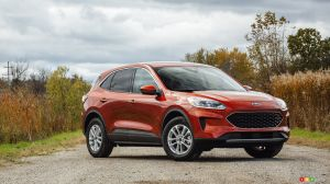 Ford préparerait une version à sept places de l'Escape