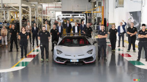 Lamborghini Builds 10,000th Aventador