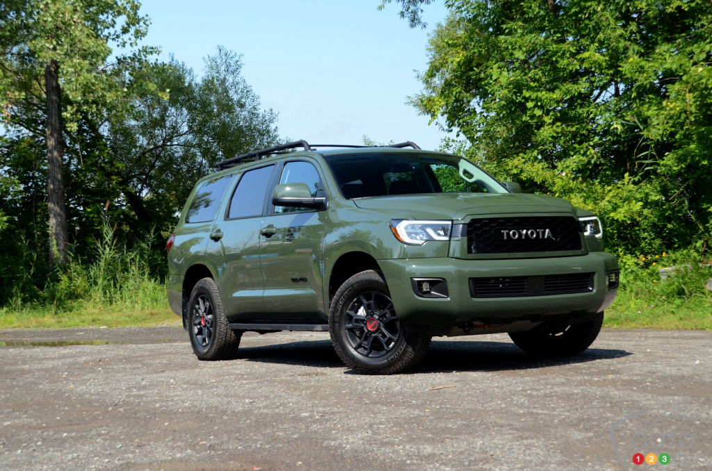 2020 Toyota Sequoia TRD Pro Review: Riding a Dinosaur