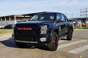 Foton Big General, l'imitation chinoise du Ford F-150 Raptor