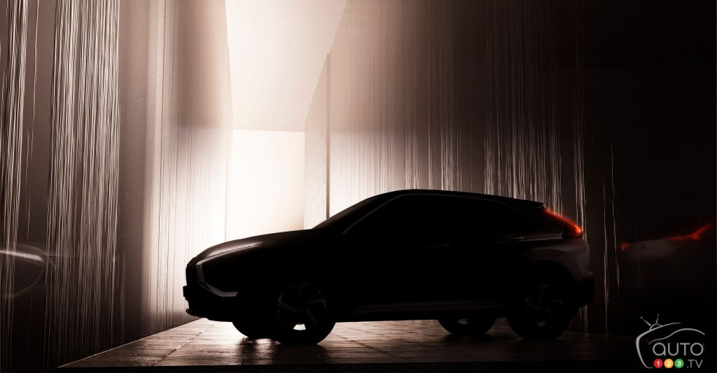 Mitsubishi Gives First Glimpse of 2022 Eclipse Cross