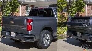 The Multi-Flex tailgate of the 2021 Chevrolet Silverado