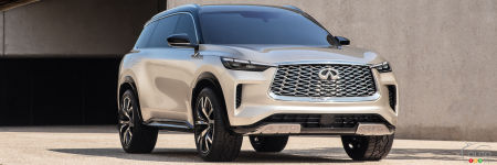 Infiniti's QX60 Monograph Prototype Gets Big Reveal