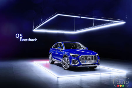 2021 Audi Q5 Sportback Presented, Will Be Offered in Canada As of Next Spring