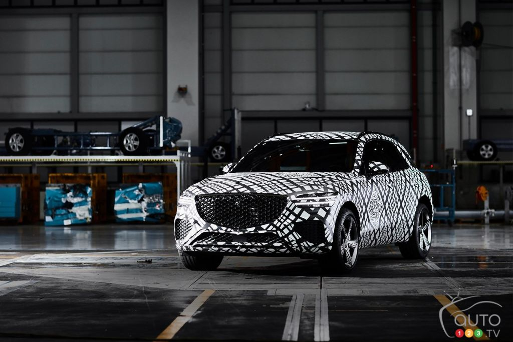 Genesis Previews its Next Project: The 2022 GV70 Compact SUV