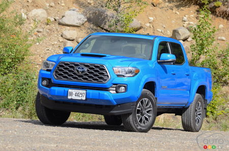 2020 Toyota Tacoma TRD Sport Review: We test the manual transmission-equipped pickup