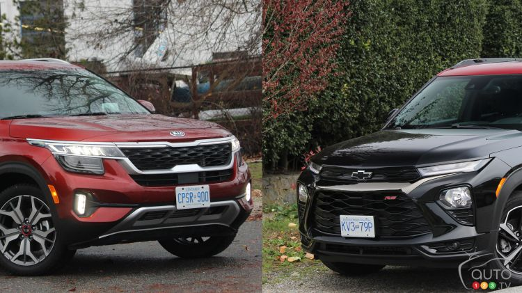 Comparison: 2021 Kia Seltos vs 2021 Chevrolet Trailblazer