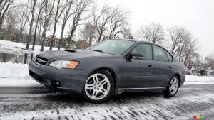 Michelin X-ICE SNOW tires on 2007 Subaru Legacy GT