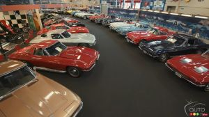 Une impressionnante collection de muscle car s'en va à l'encan