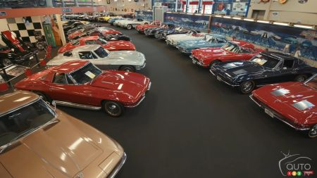 A Massive Collection of Vintage Muscle Cars Is Going to Auction